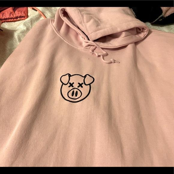 Jeffree Star X Shane Dawson pig hoodie